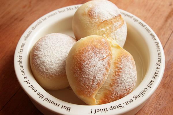 50%薄力粉のパン