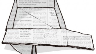 カステラには新聞紙の型が良い理由
