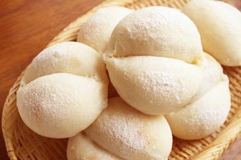 お尻型白パン