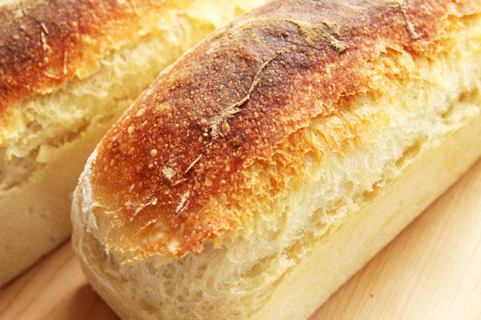 捏ねないパンアップ