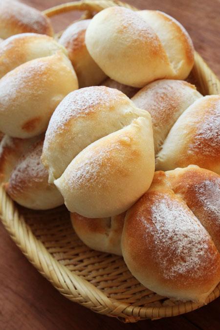 北海道産強力粉のパン