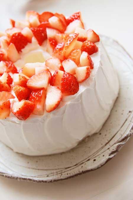 バースデーシフォンケーキ