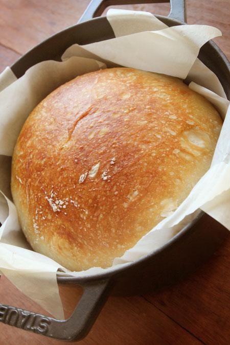 60時間冷蔵発酵ストウブパン