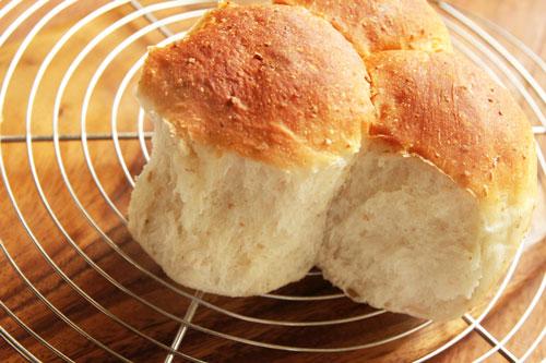 余ったちぎりパン