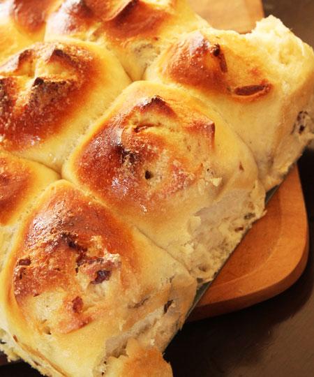 ちぎりパン側面