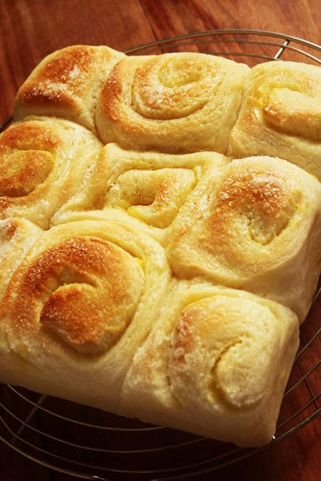 レモンシュガーバターちぎりパン