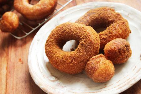 黒糖豆乳ドーナッツ