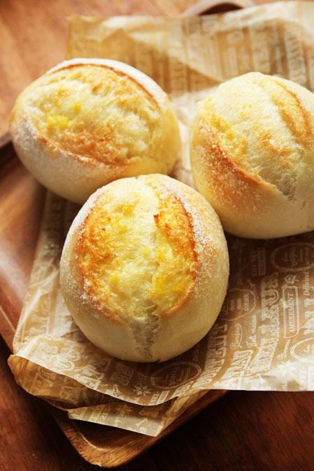 レモンシュガーバターパン