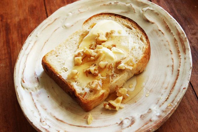 クリームチーズ&クルミ&メープル