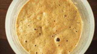 自家製天然酵母チャレンジ